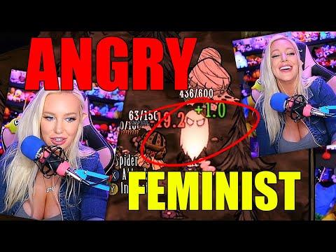EMPOWERED FEMINIST = 0 WOOD! - Stream Highlight #71