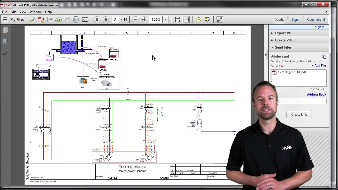 Solidworks Electrical Intelligent Pdf Youtube