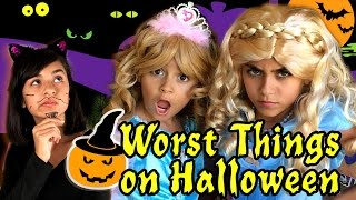 10 Worst Things on Halloween // GEM Sisters