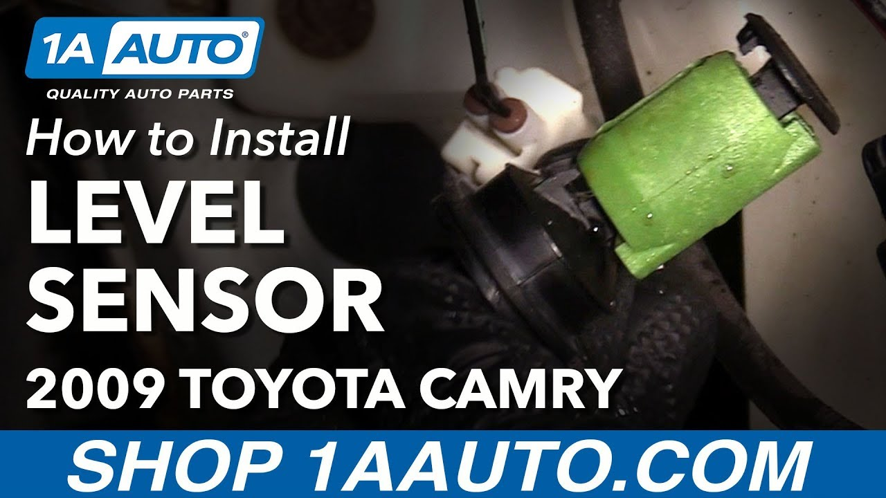 How To Install Replace Windshield Washer Fluid Level Sensor 2009 Nissan Altima Fuse Box Clicking Toyota Camry