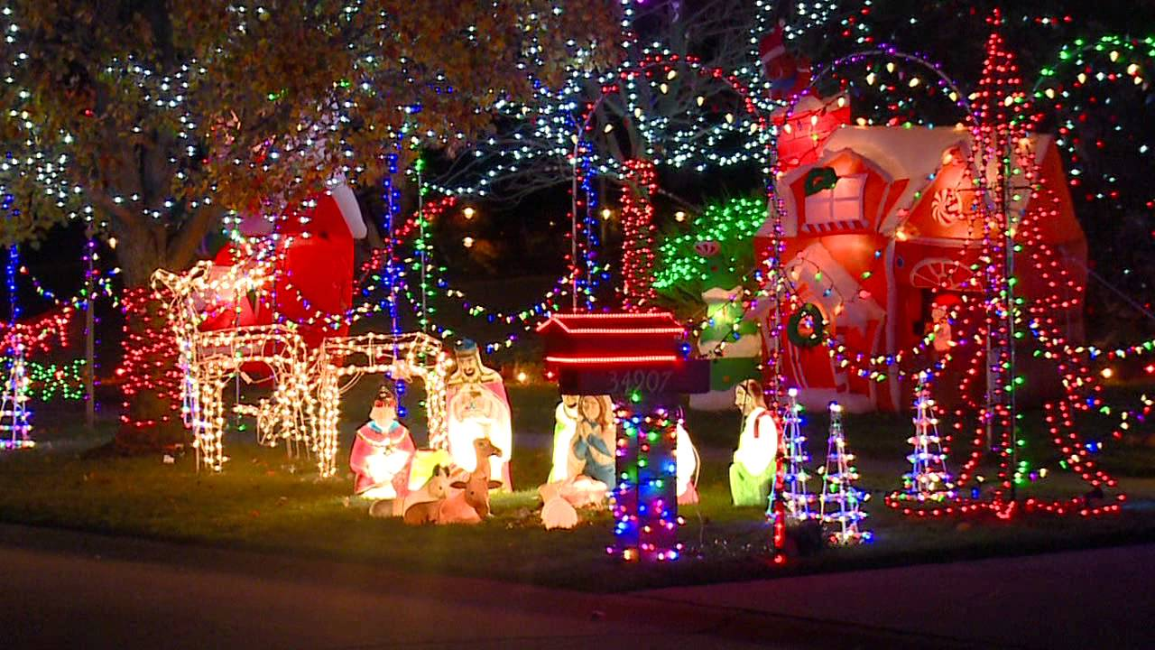 North Ridgeville Christmas Lights PKG ABBP - YouTube