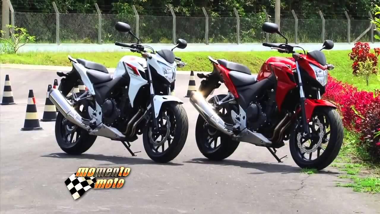 familia honda cb 500 no brasil - momento moto - youtube
