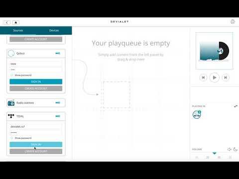 Streaming sources in Phantom Premier – Devialet Help Center