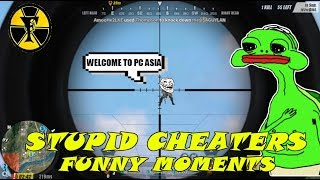 STUPID CHEATERS  | RULES OF SURVIVAL FUNNY MOMENTS | RULES OF SURVIVAL PH | WTF MOMENTS