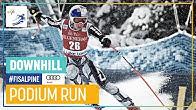 Ester Ledecka | Women's Downhill | Lake Louise | 1st place | FIS Alpine