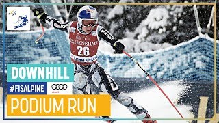 Ester Ledecka | Women's Downhill | Lake Louise | 1st place | FIS Alpine