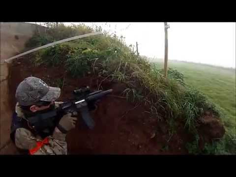 Northern Alliance Airsoft 12/10/14 (ICS L85a2 CQB gameplay)