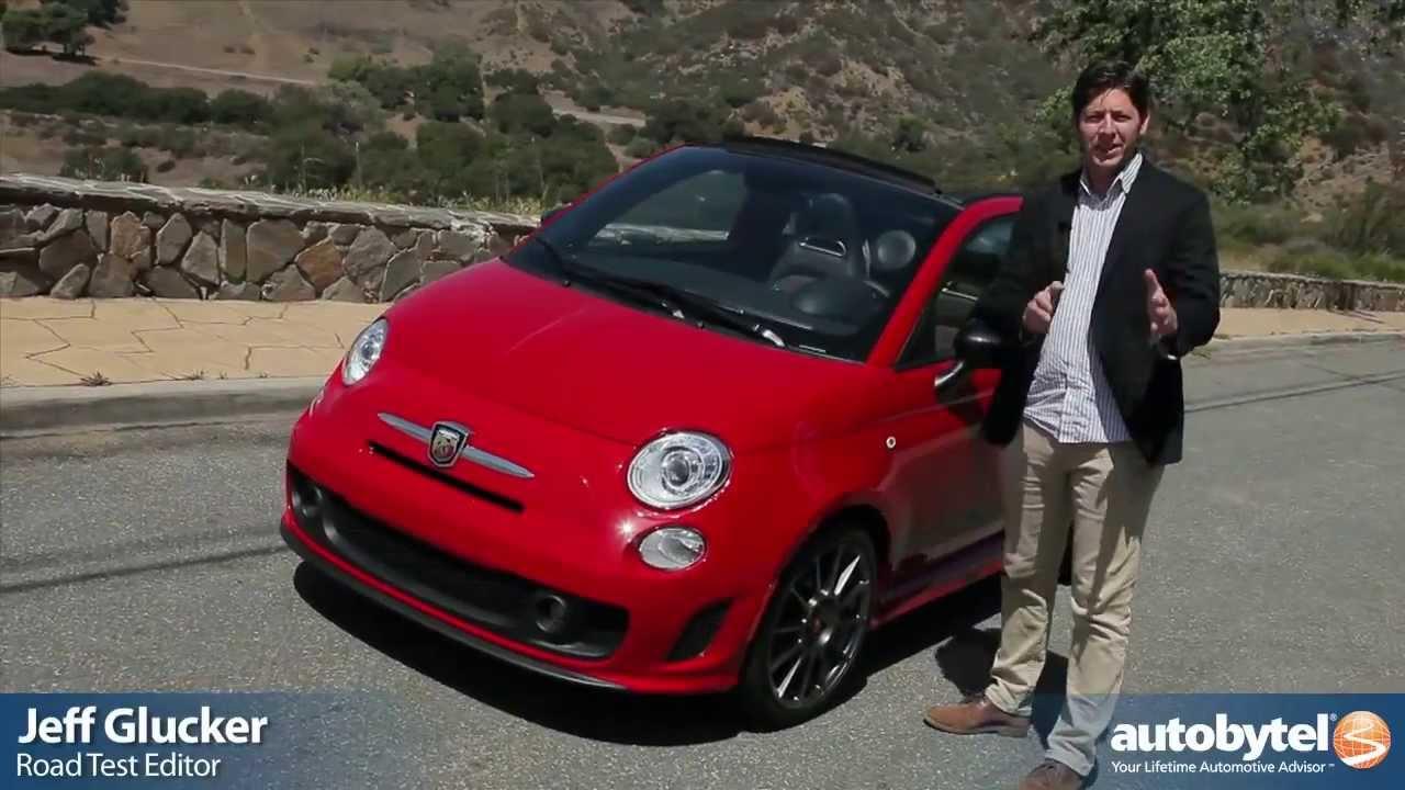 2013 fiat 500 abarth cabrio test drive & sport compact car video