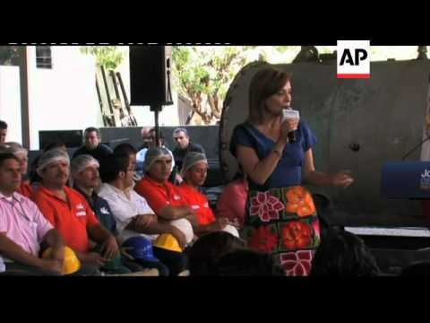 AP Interview with presidential candidate Josefina Vazquez Mota