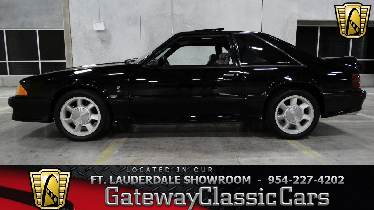 1993 Ford Mustang Cobra - Gateway Classic Cars of Fort Lauderdale ...