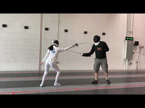 Fencing Lesson Video Clips
