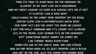 Yelawolf Ft. Rittz The Rapper My Box Chevy pt 3 (Lyrics On Screen)