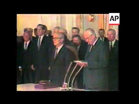 East German leader Erich Honecker deposed