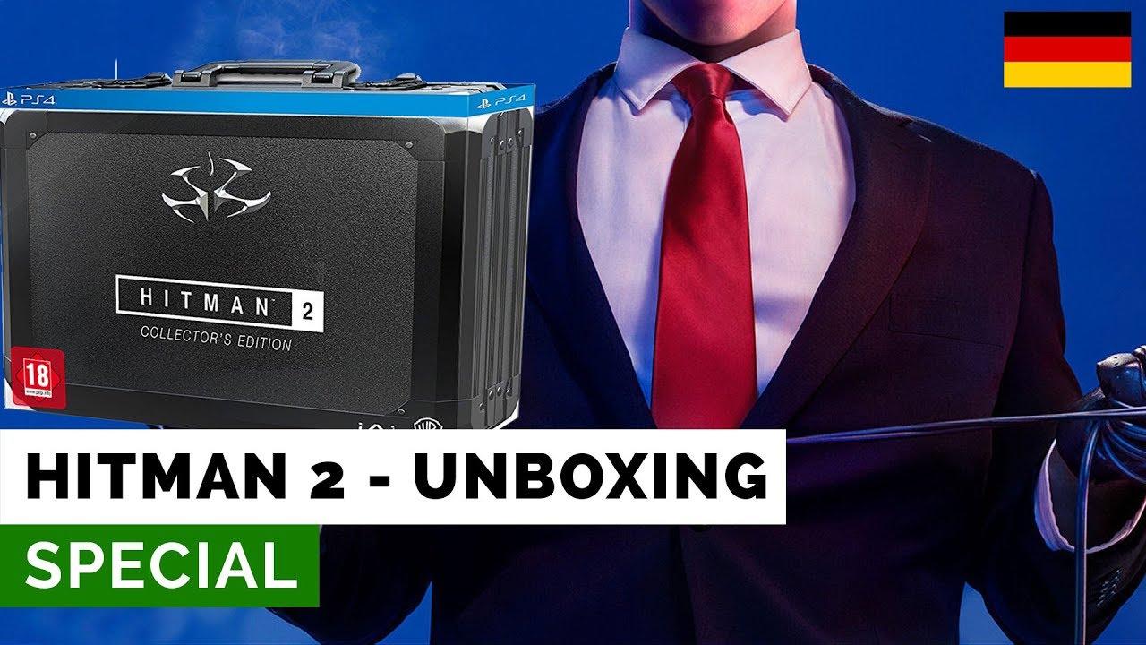 Hitman 2 Collectors Edition Unboxing De