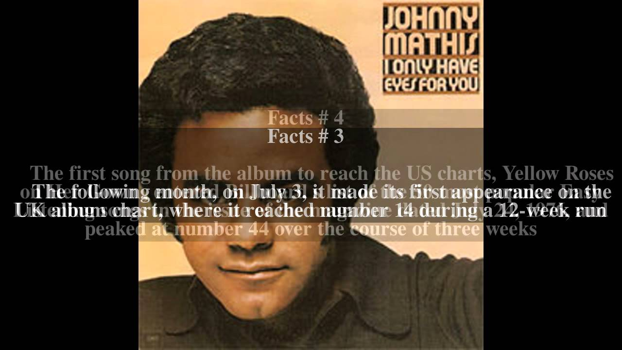 I Only Have Eyes for You (Johnny Mathis album) Top # 5 Facts - YouTube