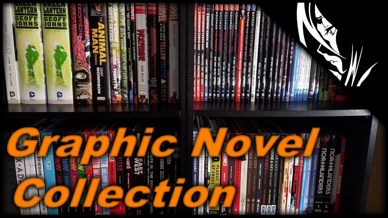 Graphic Novel Collection :: April 2017 :: InsidiousSwede - YouTube