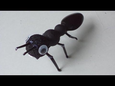 Как сделать муравьев из пластиковых бутылок 238