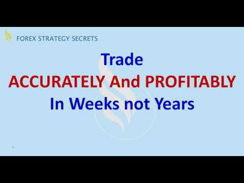 Forex Strategies and Secrets: Trade Accurately and Profitably In Weeks Not Years