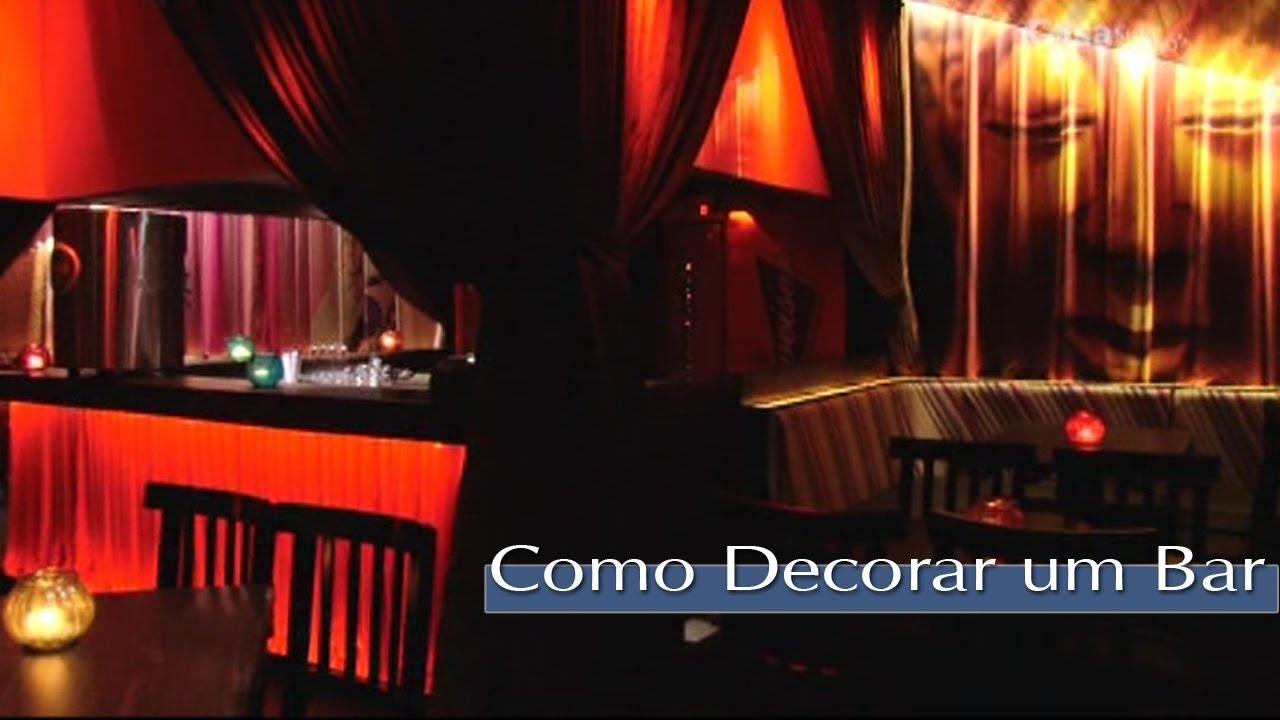 Como decorar um bar com inspira o oriental youtube - Como decorar un bar pequeno ...