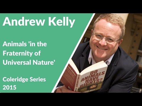 Coleridge Lectures 2015: Andrew Kelly