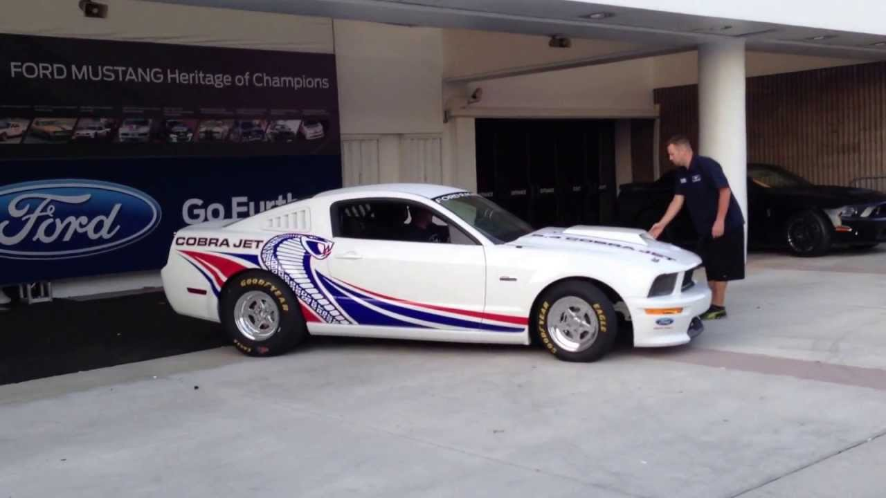 Mustang Cobra Jet >> 2008 Ford Mustang Cobra Jet - FR500CJ (4/3/13 at Barrett ...