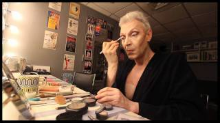 "Character Study: Tony Sheldon Transforms Into Bernadette for ""Priscilla Queen of the Desert"""