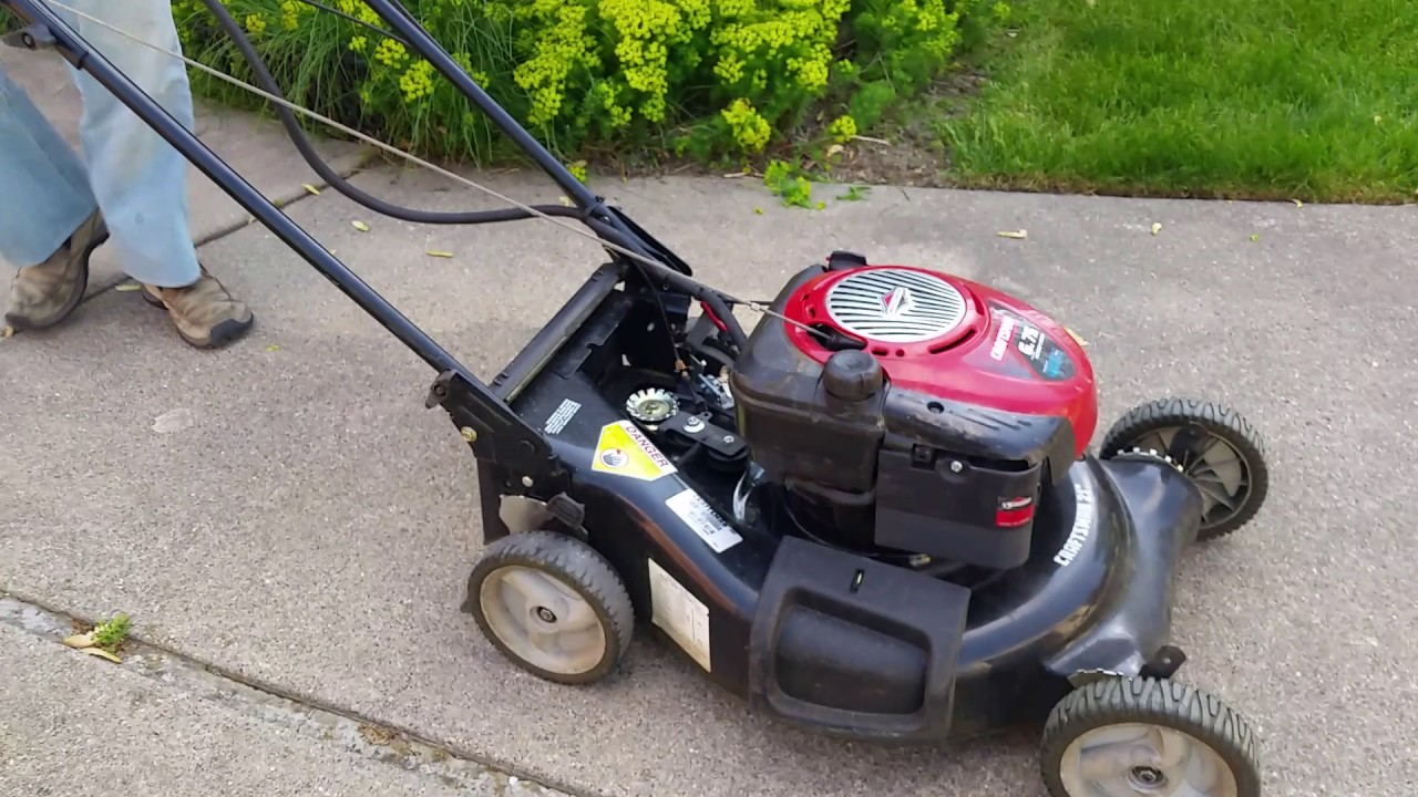 Self Propelled Lawn Mower Rear Wheels Locking Up And