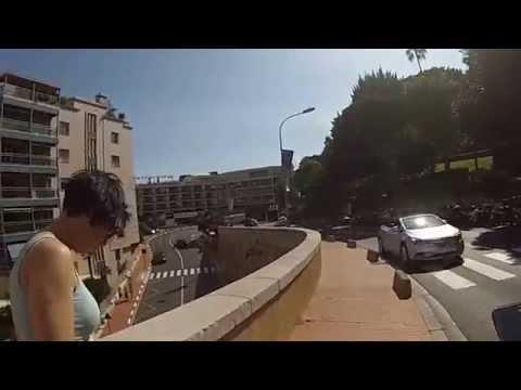 Monaco F1 track walk 29 09 2014