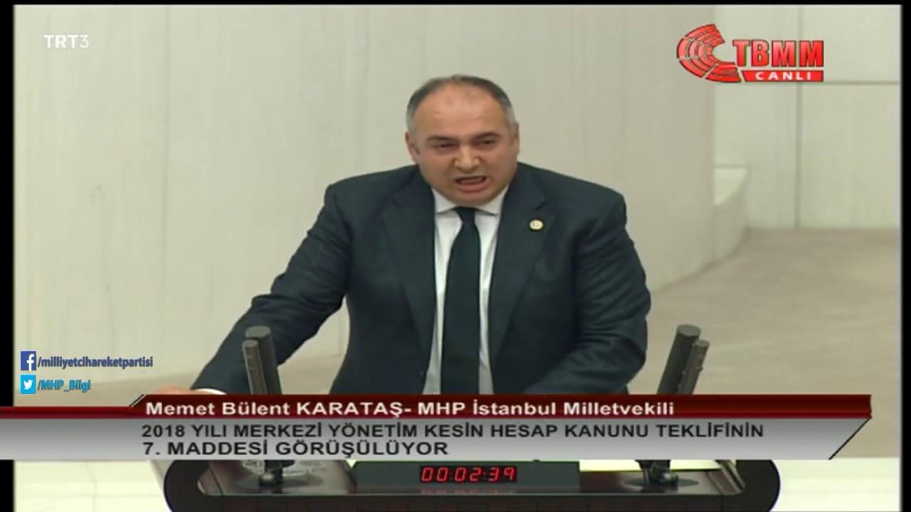 MHP'li KARATAŞ: Türk milleti, tarihin hiçbir döneminde soykırım, katliam faili olmamıştır.