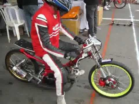 Kekalahan Fu Vs Jupiter Drag Bike Pacitan 2012 Flv Youtube
