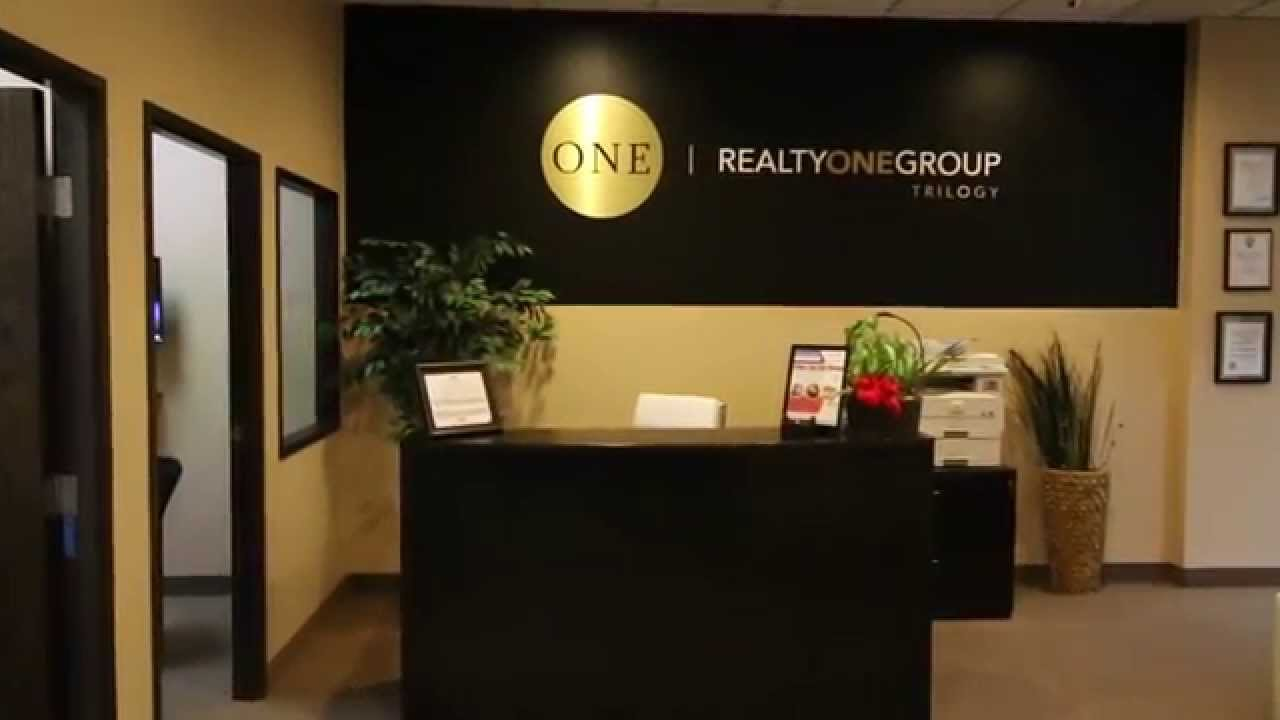 realty one group trilogy office tour youtube