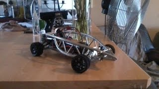 Radio Control Custom Build 1/10th Scale Aluminum Home Made Rc Car
