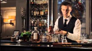Martin Siska Of The Donovan Bar Presents The 1765 Tea Punch Made With Hennessy Fine De Cognac