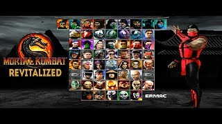 Mortal Kombat Project Revitalized - Gameplay (MUGEN)