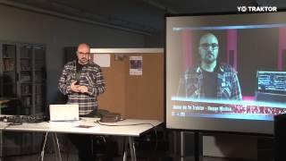 Presentación y Masterclass  Yo Traktor en IFP Verge de la Merçè en Barcelona