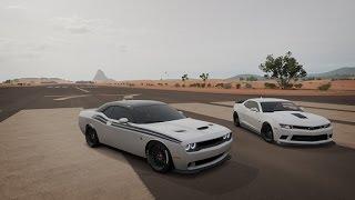 Realistic Cruising | Forza Horizon 3 | Challenger SRT Hellcat