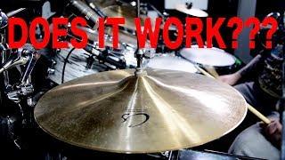 Crash cymbals as Hi-Hats