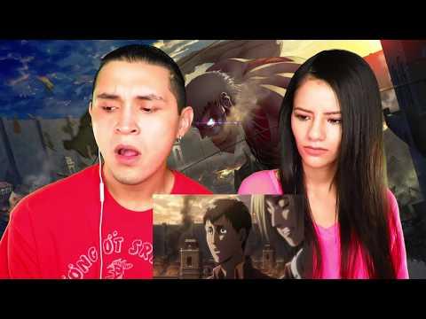 Attack on Titan - Season 2 - Episode 34 - Opening - YesiJai Reaction