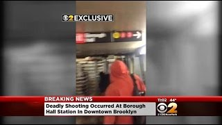CBS2 Exclusive Video: Deadly shooting In Busy Brooklyn Subway Station