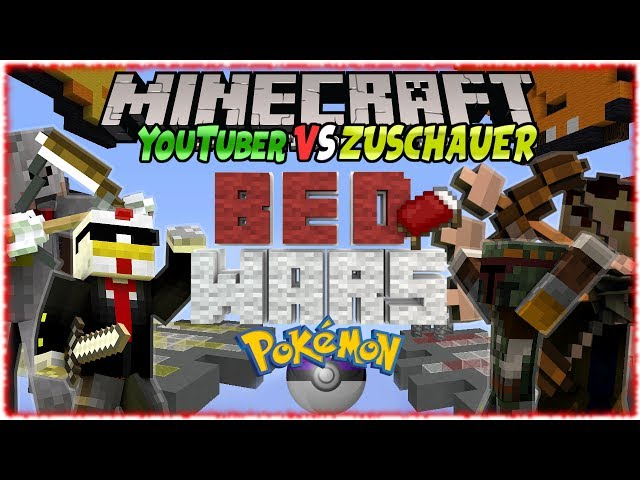 Dally Gaming Youtuber Vs Zuschauerminecraft Bedwars Ps - Minecraft bedwars spielen ps4