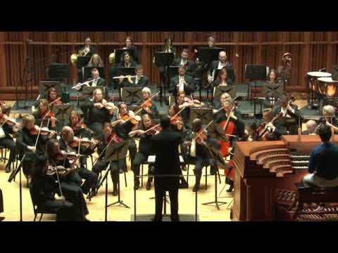 "Muncie Symphony Orchestra's ""Organ Celebration"" Concert September 10, 2016"
