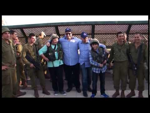 Khafif Gindi Bar Mitzvah Trip In Israel