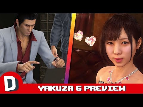 Looking for Love in Yakuza 6 (Game Preview)