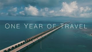 One Year of Travel by Mike and Laura ✌️