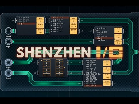 Shenzhen I/O - Building Cheap Chinese Electronic Gizmos