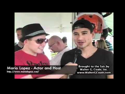 Mario Lopez Interview at the Harford County Farm Fair