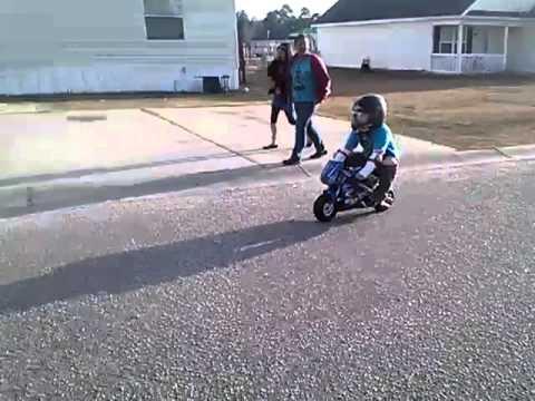 Razor Pocket Rocket Mini Bike Youtube