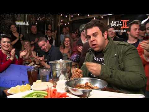 man vs food | adam vs alette di pollo più piccanti del mondo (of world) |HD|