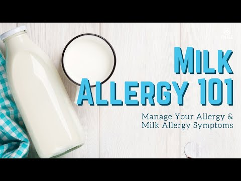 Food Allergy 101: Manage Milk Allergies | Milk Allergy Symptom