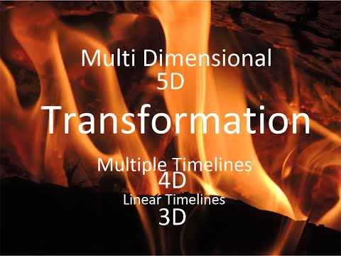 Shift in Time, Understanding & Dimension   4D transition Man